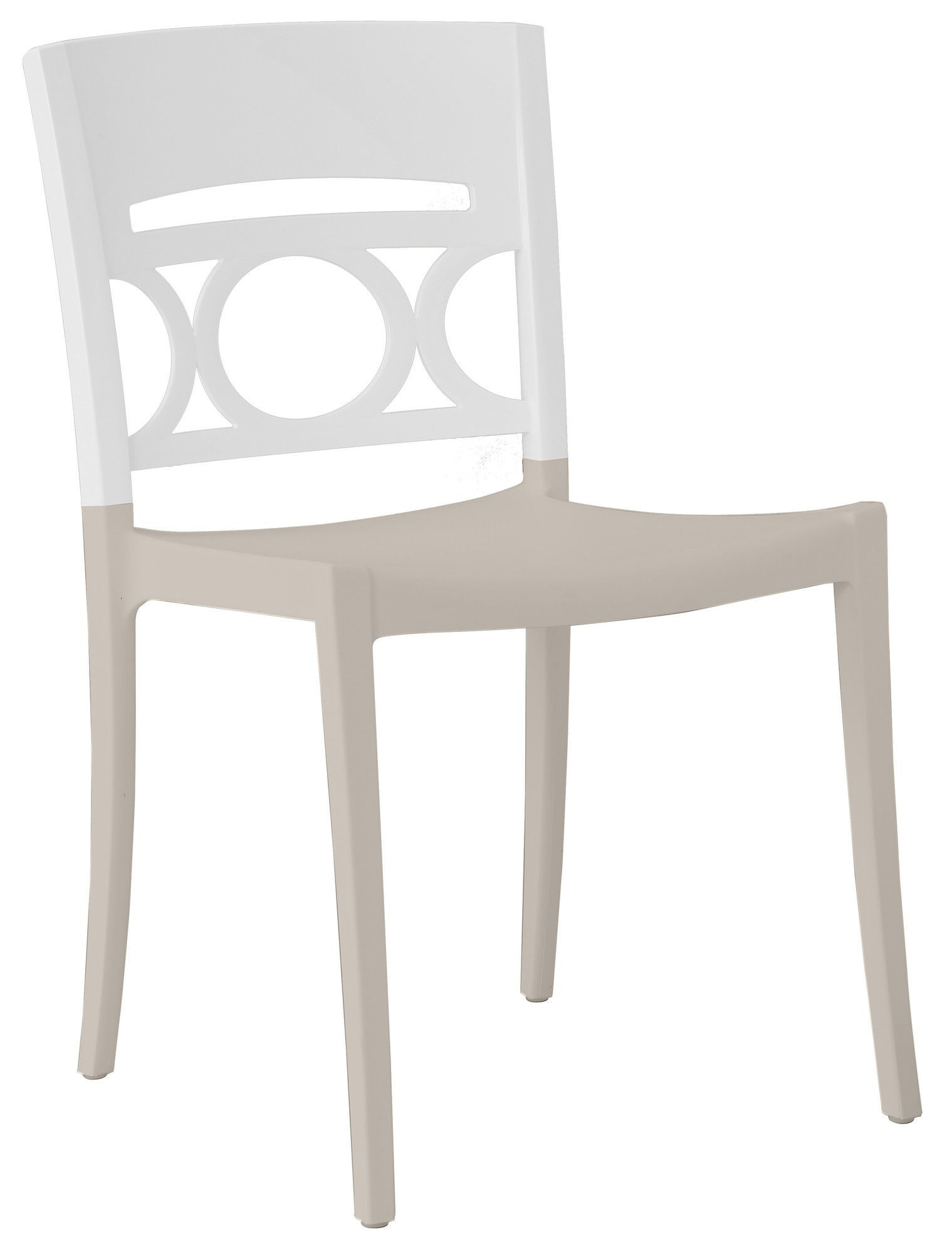 Moon Stacking Dining Side Chair (Set of 4)