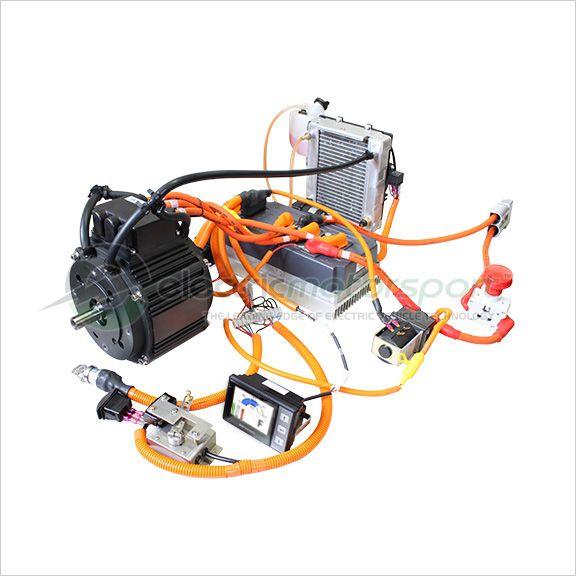 Pmac 15kw cont 38kw pk liquid cooled motor drive for Liquid cooled ac motor