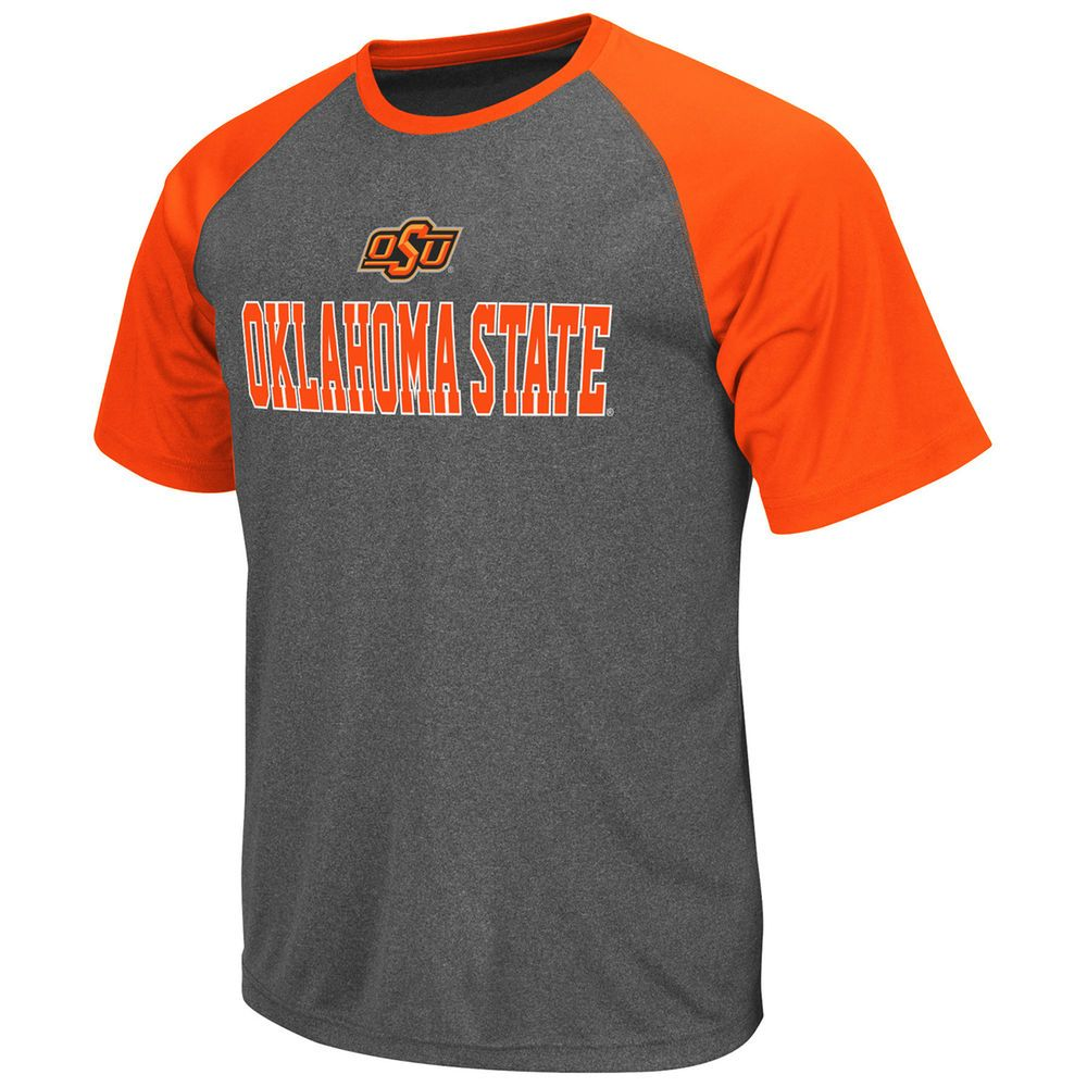 3d8cc62dcf0 Oklahoma State Cowboys Rider Raglan T-Shirt – Gray