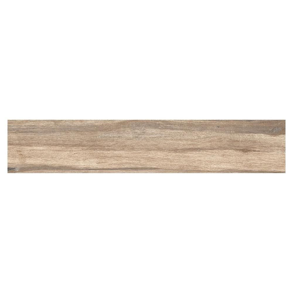 Industrial Flooring That Looks Like Wood: Navarro Beige Wood Plank Porcelain Tile