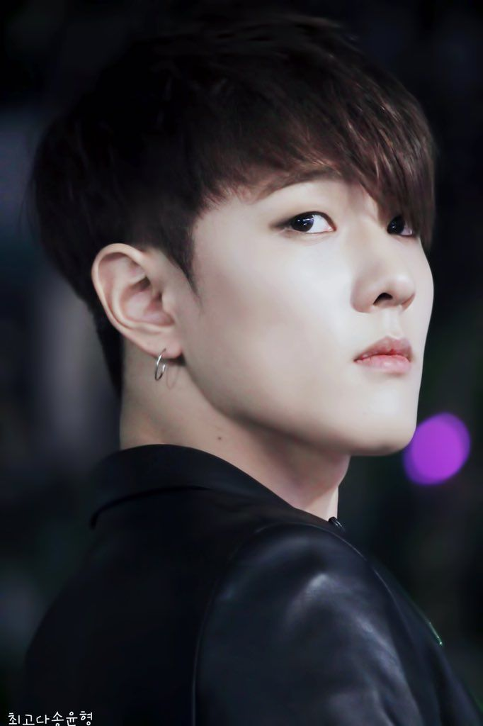 Donghyuk, I can't help it, but he reminds me of kevin woo from u-kiss