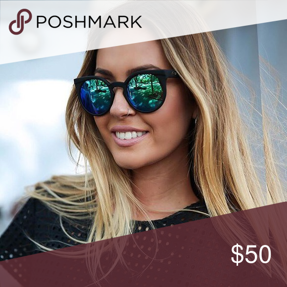 RARE Authentic QUAY White Invader Sunglasses   Sunglasses