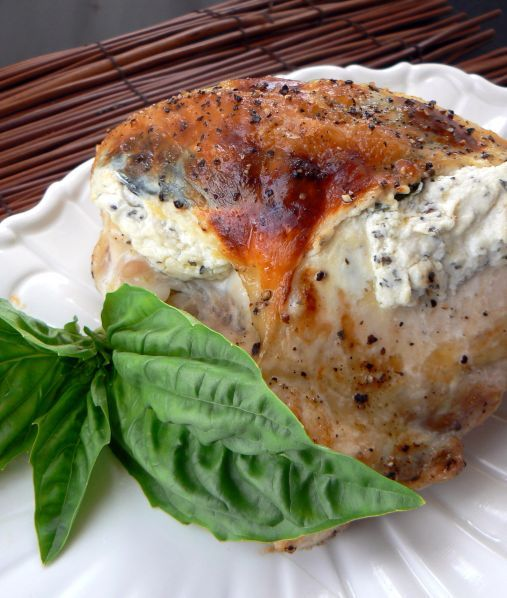 Chicken With Herbed Goat Cheese Recipe Food Network Recipes Food Recipes Food