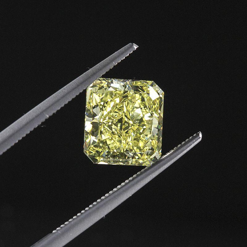 3.31ct Fancy Intense #Yellow Radiant #Diamond VVS1 GIA #Engagement #Ring #Wedding