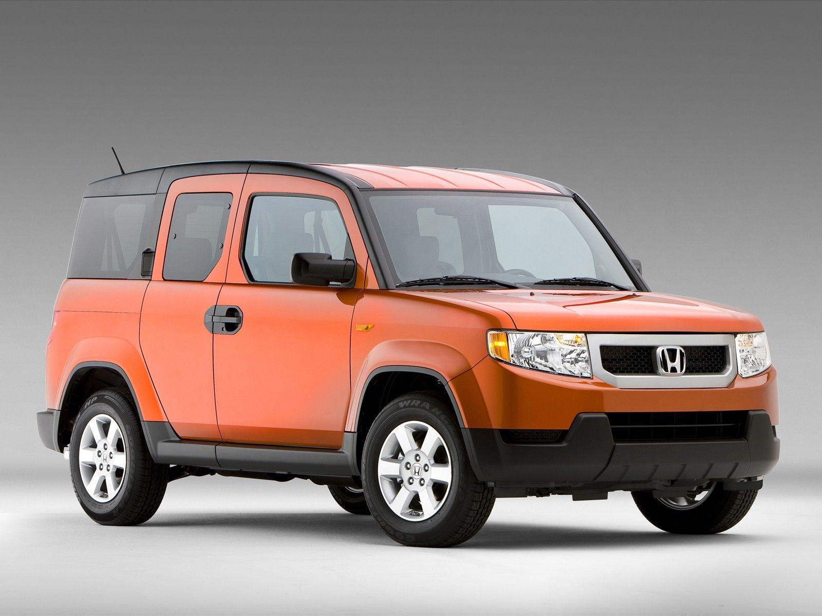 Honda Mini Van Models Honda Element Awd Truck Suv Minivan Car