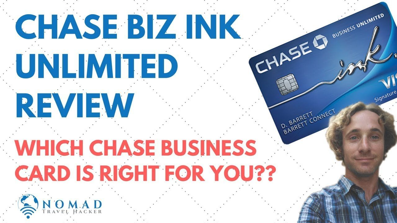 chase business ink unlimited review  chase business card