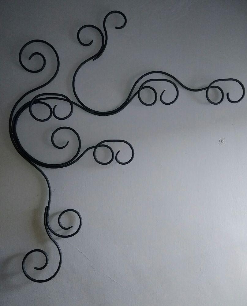 Appendiabiti Da Muro In Ferro.Appendiabiti Muro Ferro Battuto Casa Arredamento E Bricolage