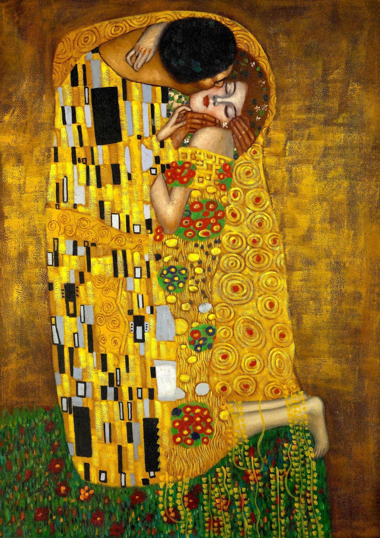 Gustav Klimt El Beso Fino Arte Impresión Cartel Image 0 Klimt Pinturas Arte Klimt Gustav Klimt