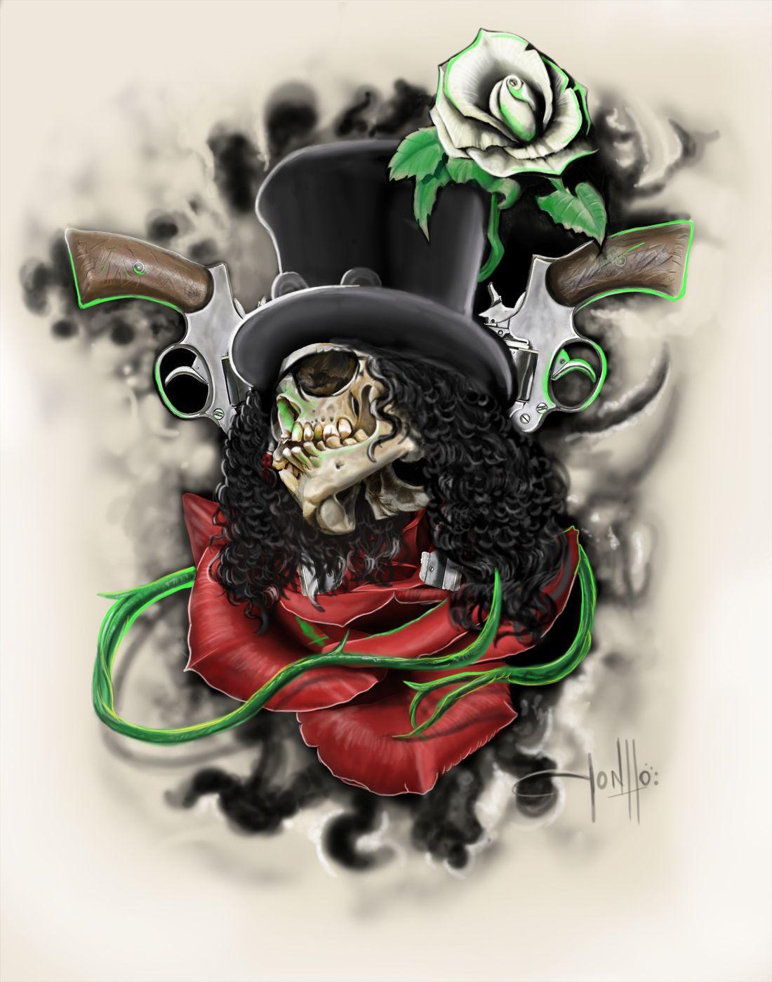 Slash Skull Logo | www.imgkid.com - The Image Kid Has It!