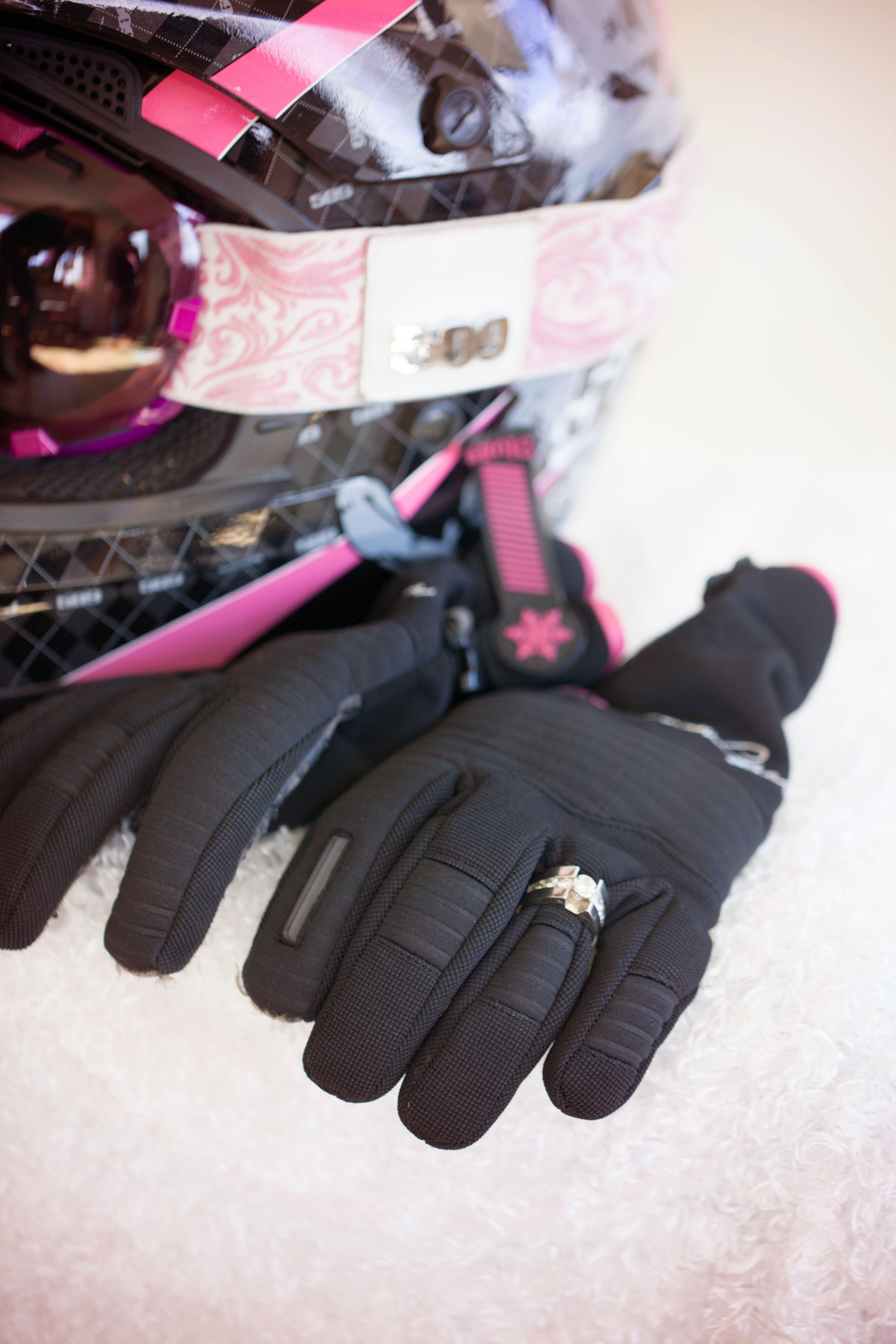 snowmobile, engagement picture, winter wedding #DivasSnowGear, #509
