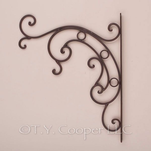 Wrought Iron Metal Plant Basket Hanger Hooks 92069 With Images