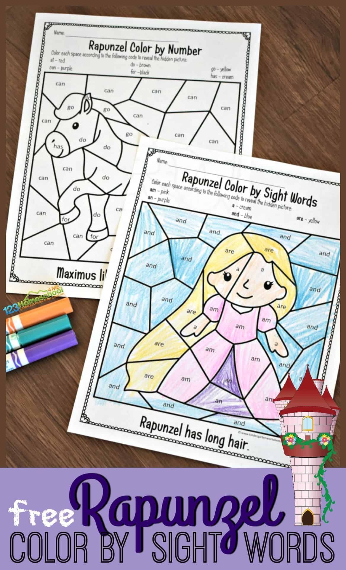 Nutrition Sight Coloring Pages Sight Word Coloring