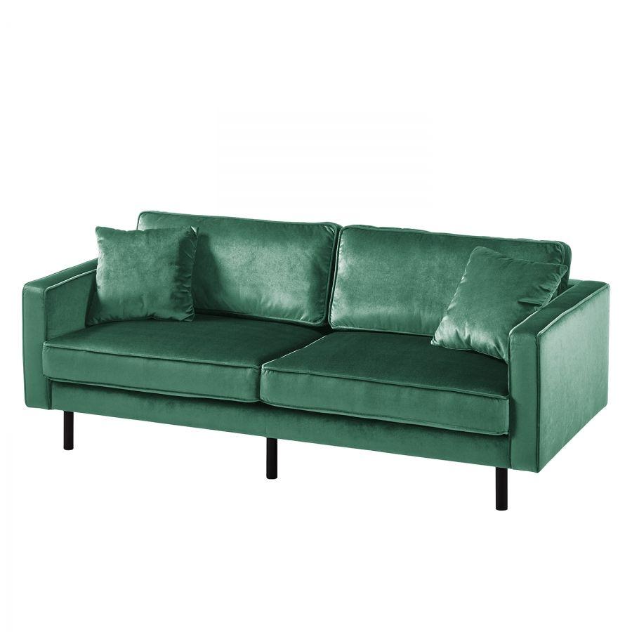 Sofa Edina Samt 3 Sitzer Sofa S