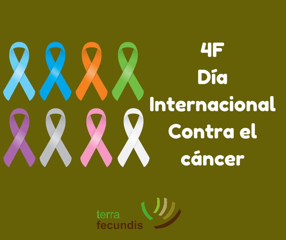Gráfica en redes para el día internacional contra el cáncer de Terra Fecundis