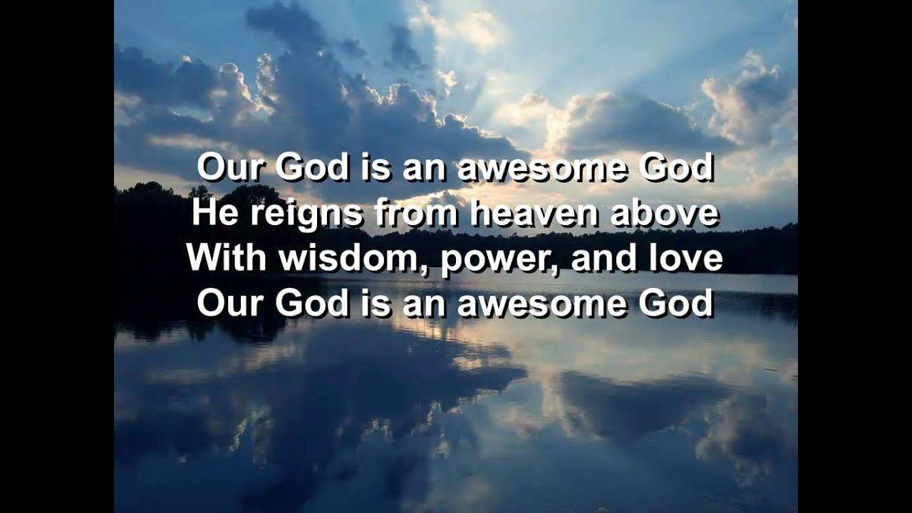 Awesome God Rich Mullins Lyrics Hq Rich Mullins Lyrics God