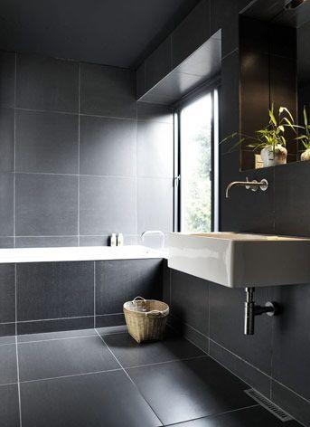 Villa Wienberg By Friis Moltke And Wienberg Architects Denmark Bathroom Design Luxury Grey Bathroom Floor Dark Bathrooms