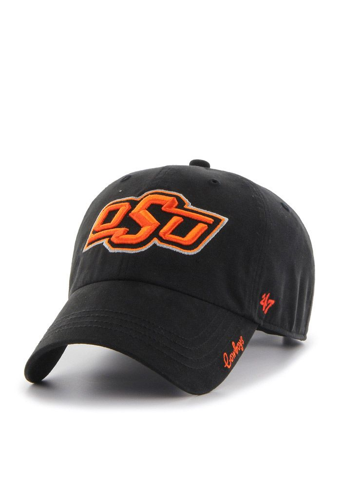 de5a9147aff 47 Oklahoma State Cowboys Black Miata Clean Up Womens Adjustable Hat ...