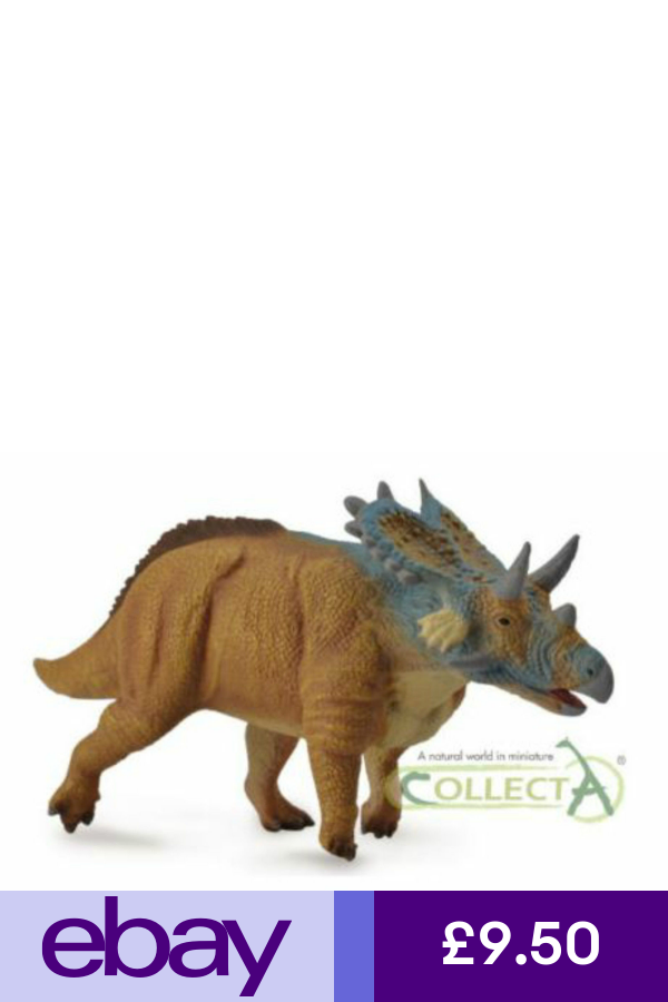 MERCURICERATOPS DINOSAUR MODEL EDUCATIONAL TOY COLLECTA DETAILED BNWT