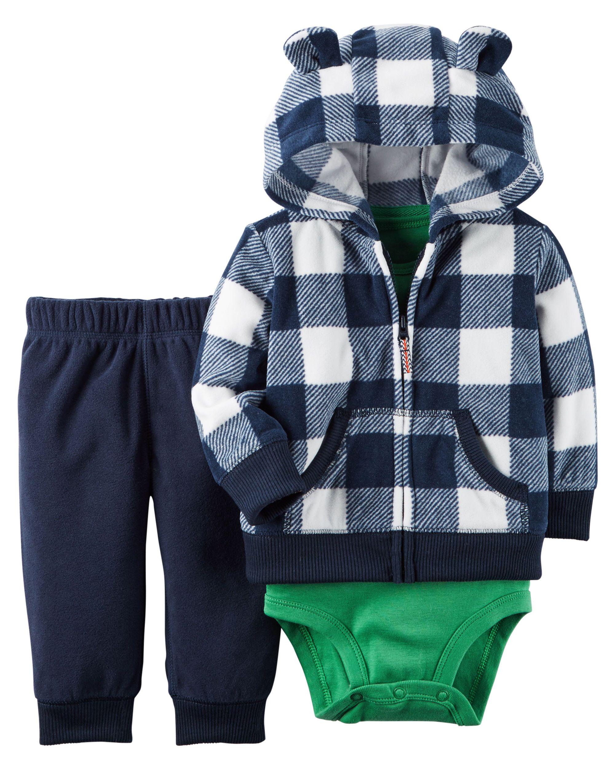 Baby Boy 3 Piece Little Jacket Set Carters Com My Son
