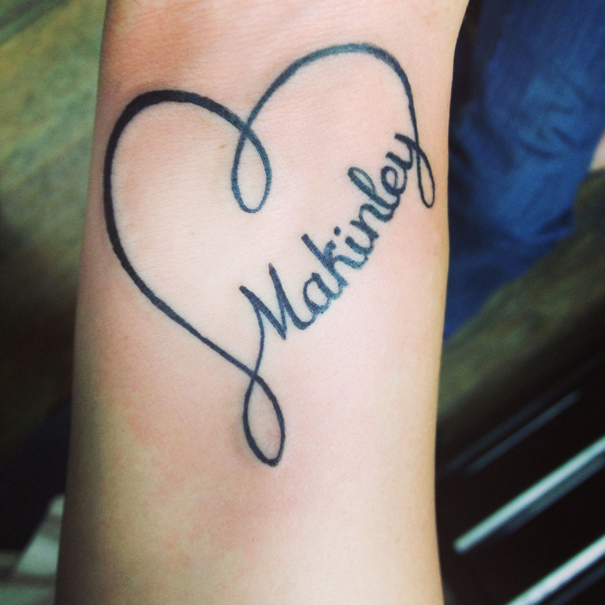 Tattoo Heart tattoos with names, Tattoos with kids names