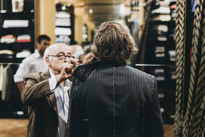Luxury Safes brings you the history of Rubinacci, the most renowned bespoke tailor in Naples. http://luxurysafes.me/blog