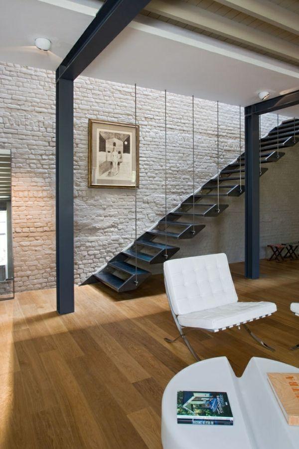 Interior Designideen Originell Geländer Stufen | Stairs