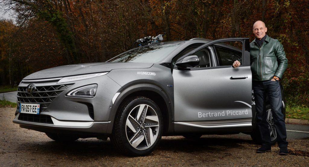 Guy Named Piccard Takes Hyundai Nexo Further Than Anyone
