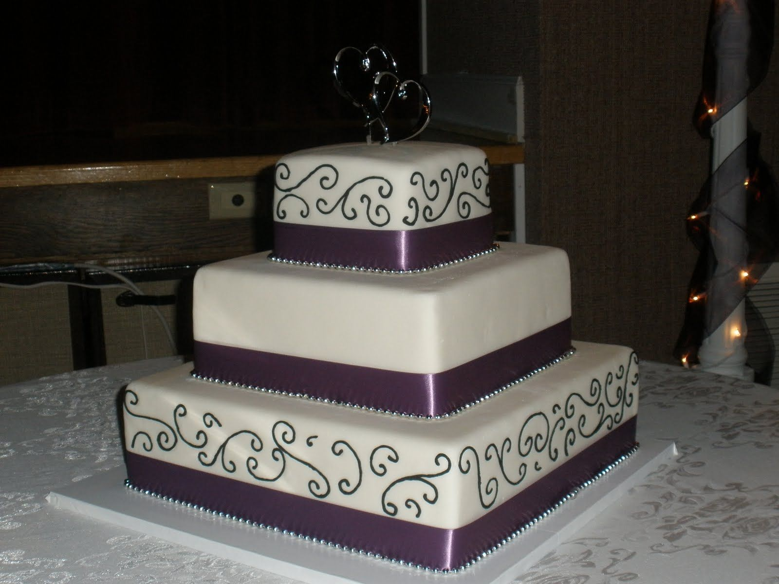 square purple wedding cakes   Cakes Flavours Pricing FAQ Get a quote ...