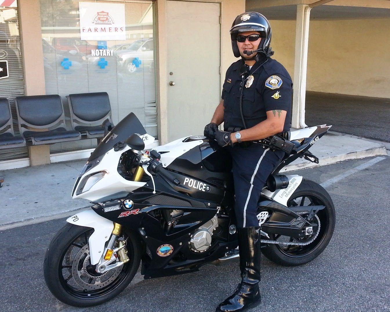 Long Beach Police Motor Patrol Bmw S1000rr Show Bike Donated By Long B Police Super Bikes Bmw S1000rr