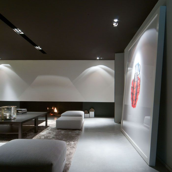 Maison contemporaine am nagement design int rieur for Design plafond salon