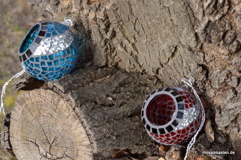 windlicht kugel zum aufh ngen blau silber tiffany pinterest mosaic bottles mosaic and vase. Black Bedroom Furniture Sets. Home Design Ideas