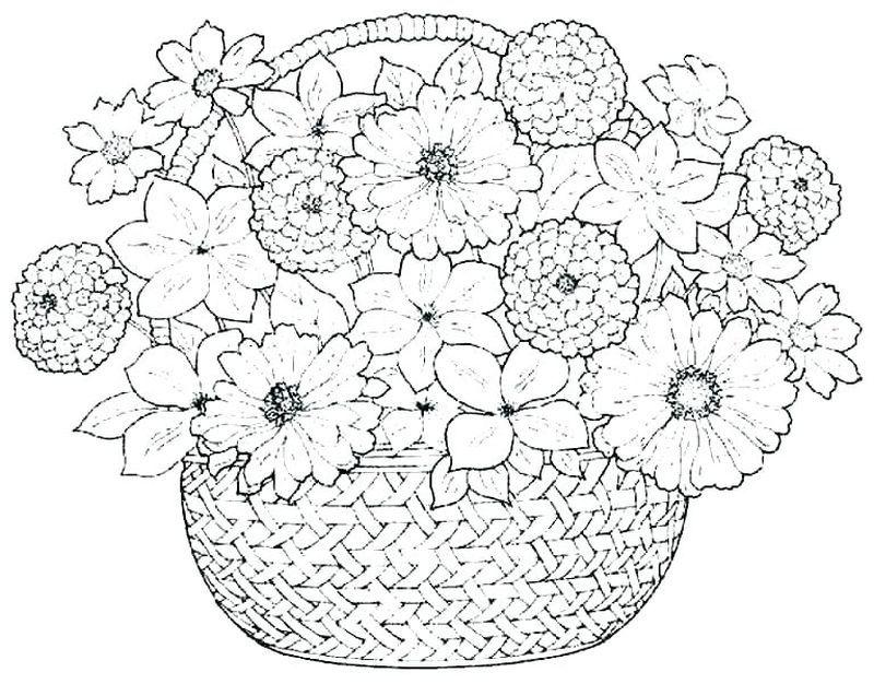 Kostenlose Ausmalbilder Blumen