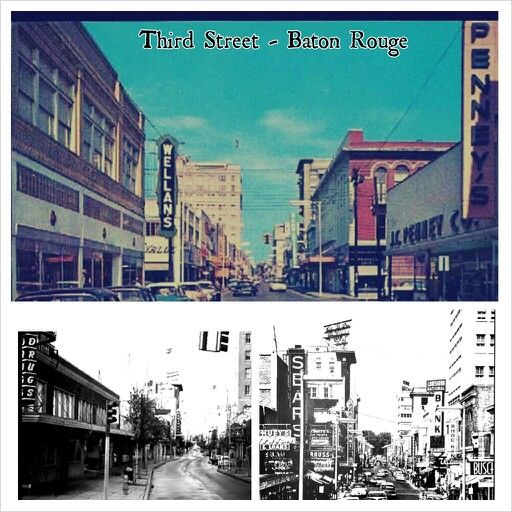 Baton Rouge Third Street Back In The Day Pretty Places Baton Rouge Alexandria La