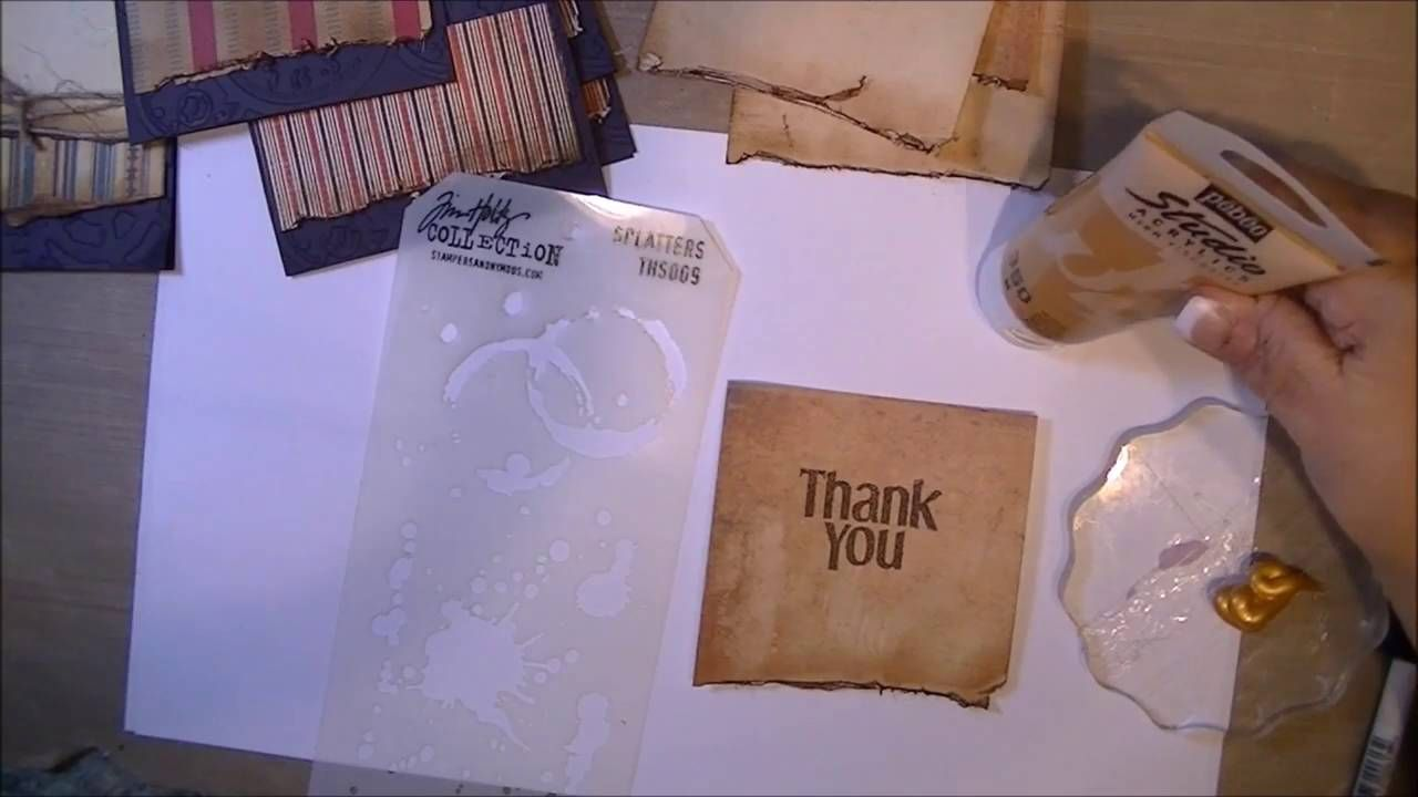 Masculine Thank You Card
