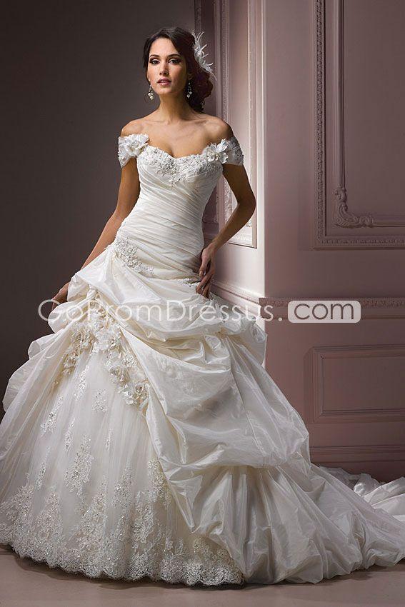 Ball Gown Wedding Dress Wish The Top Was A Bit Higher Ball