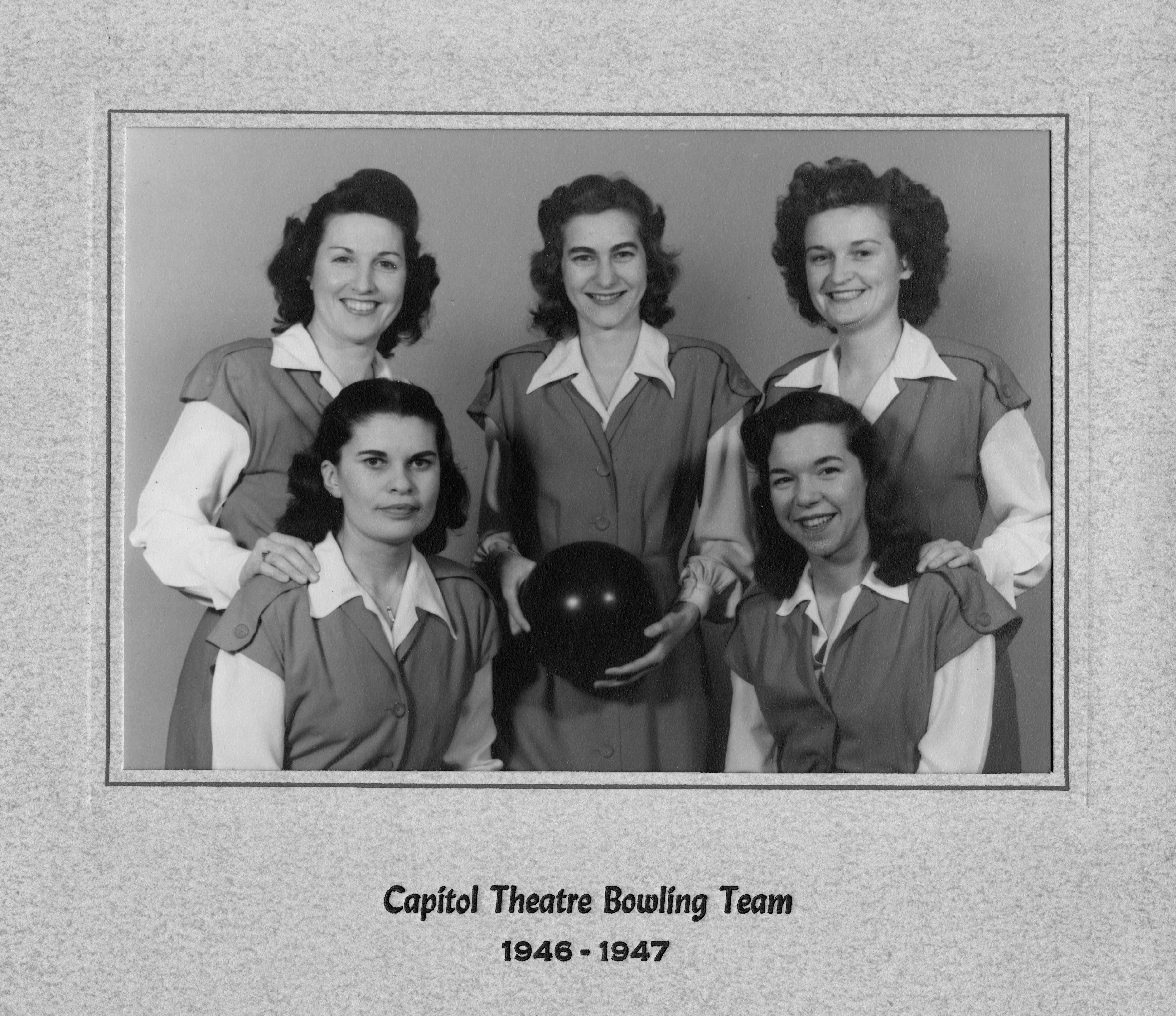 19461947 capitol theatre bowling team dover de 9200