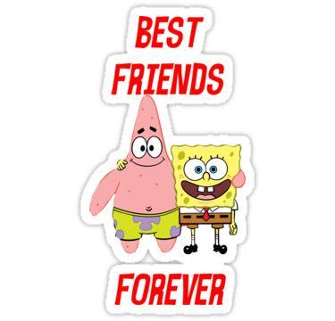 Best Friends Forever Couple Case Spongebob And Patrick Couple Case