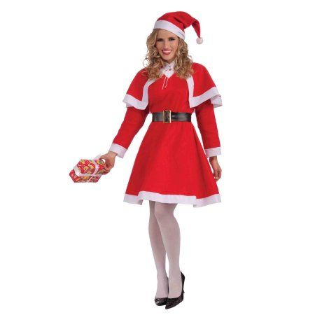 3ae9325bfa9f Mrs. Santa Claus Adult Female Christmas Costume - Walmart.com Sc 1 St  Pinterest