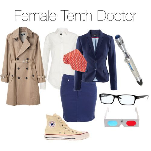 Female 10th doctor cosplay
