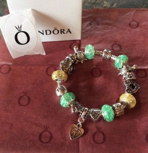 Genuine Pandora Bracelet 19cm with or without the charms 99p Starting No Reserve https://t.co/3BYBdlfNax https://t.co/ZQZUbvVR4E