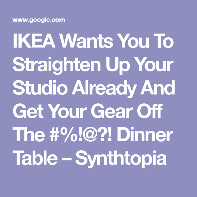 Ikea Isernhagen ikea wants you to straighten up your studio already and get your