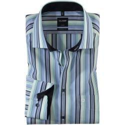 Photo of Olymp Luxor shirt, modern fit, Global Kent, green, 40 Olymp