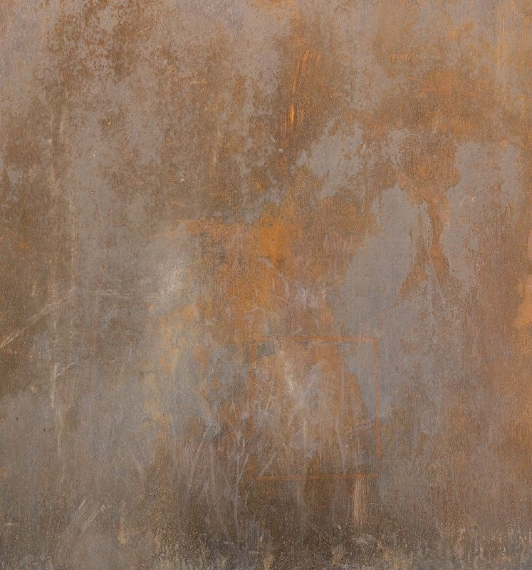 Wandmalerei Wohnzimmer Ideen: Besta Doorsticker High RUST