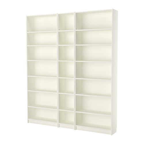 Billy Bibliotheque Blanc 200x28x237 Cm Avec Images