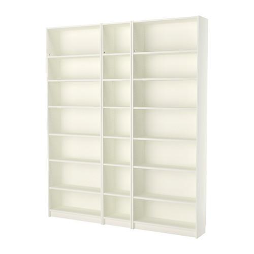 Billy Bibliotheque Blanc 200x28x237 Cm Ikea Ikea Bookcase White Bookcase Ikea Billy Bookcase