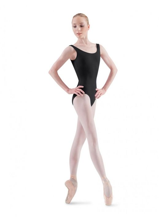 f061164f2 Adult Tall Ballerina Tank Dance Leotard by Bloch in Black #L5405T ...