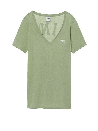 Camiseta con cuello en V Perfect