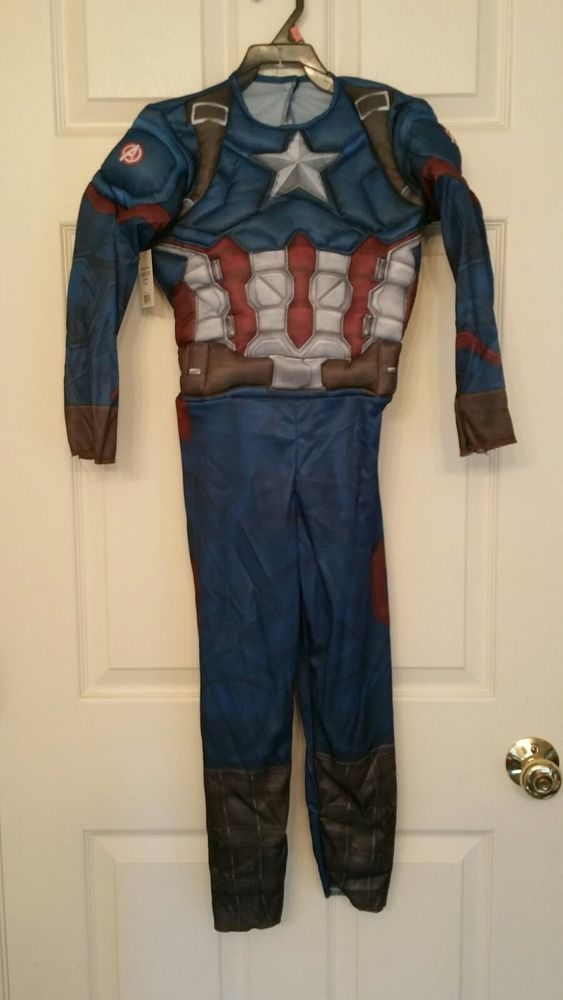 49533505d0f Captain America Civil War Halloween Costume Toddler Boys Size S