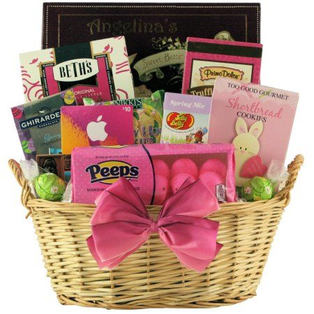 Great arrivals gift baskets itunes cool easter treats teen tween great arrivals gift baskets itunes cool easter treats teen tween easter gift basket negle Images