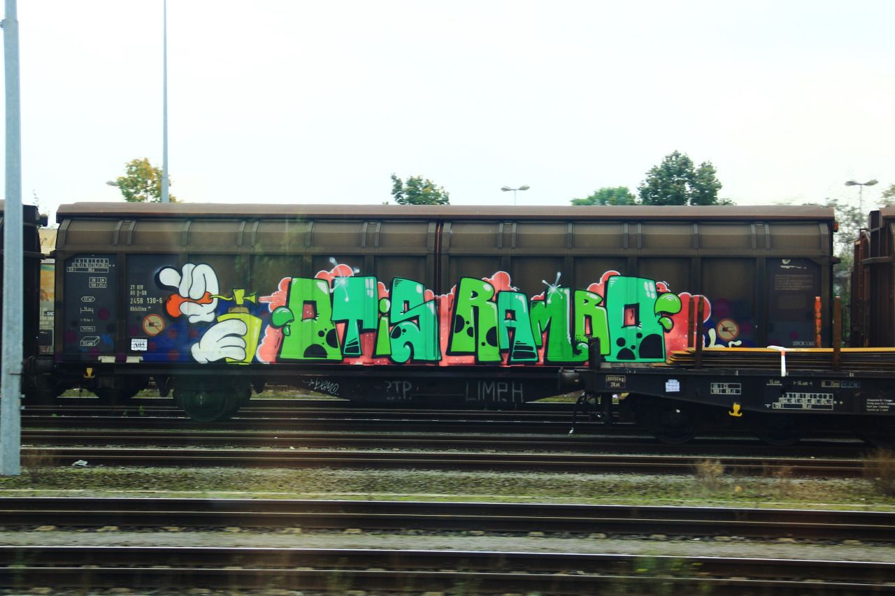 Otis X Rambo Jukeboxcowboys Graffiti Trains Train Graffiti Artwork